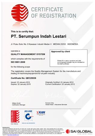 PT  Serumpun Indah Lestari